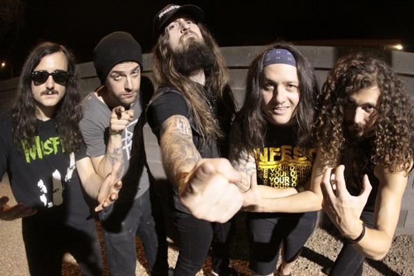 Exhumed Iron Reagan Split 12 Inch Metal Assault Album