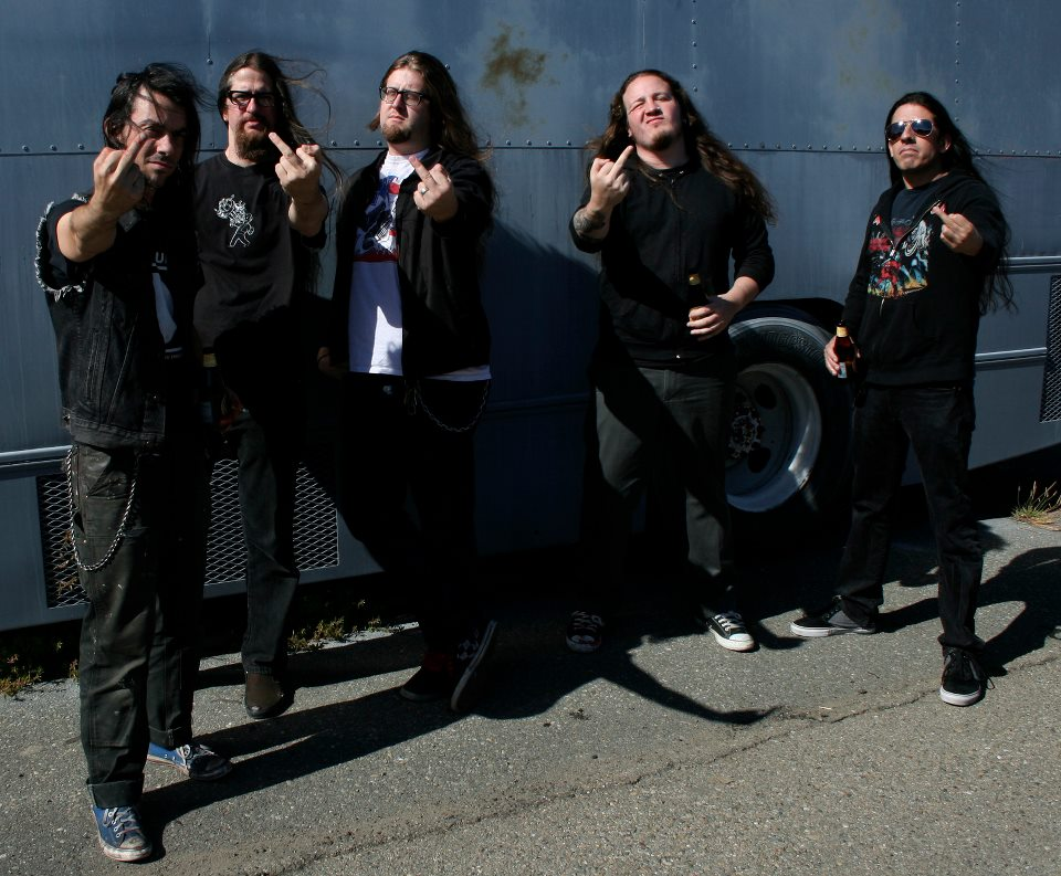 Impaled 2013-?: Ross Sewage, Jason Kocol, Sean McGrath, Leon del Muerte and Raul Varela. Impaled fans can expect to see this five-man lineup at many of their upcoming shows .