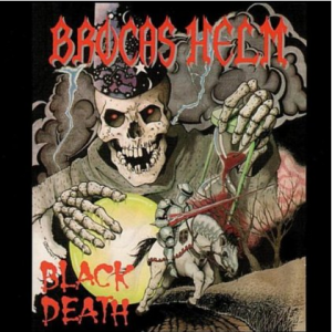 Brocas Helm's second album, Black Death. It was self-released through the band's own label, Gargoyle Records.