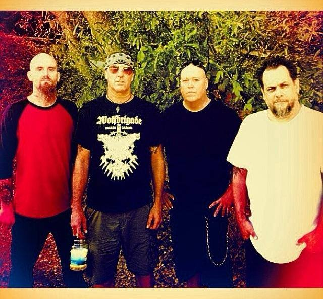 B'last 2013: Nick Oliveri, Clifford Dinsmore, Hoss Wright and Mike Neider.