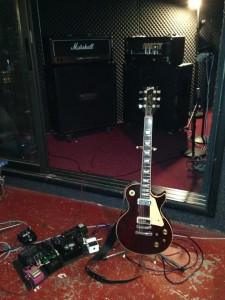 Corona's guitar setup for The Ugly.