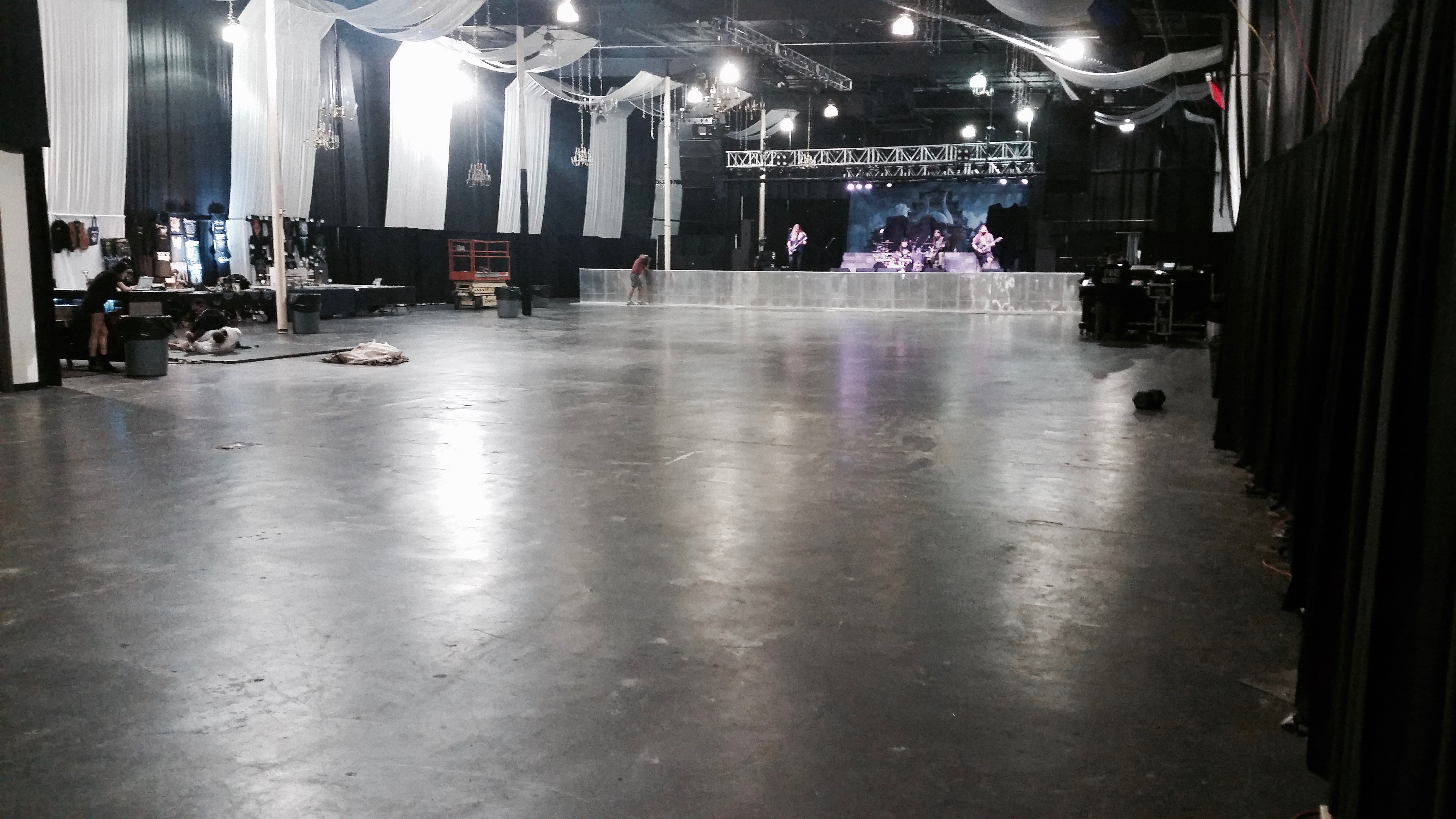 The big room in Little Rock