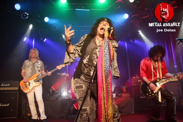 Draw The Line Pay Tribute To Aerosmith At The Whisky For Axs Tv Live