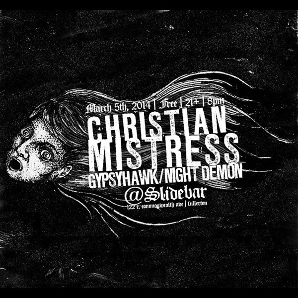 Christian Mistress, Gypsyhawk & Night Demon Rock The