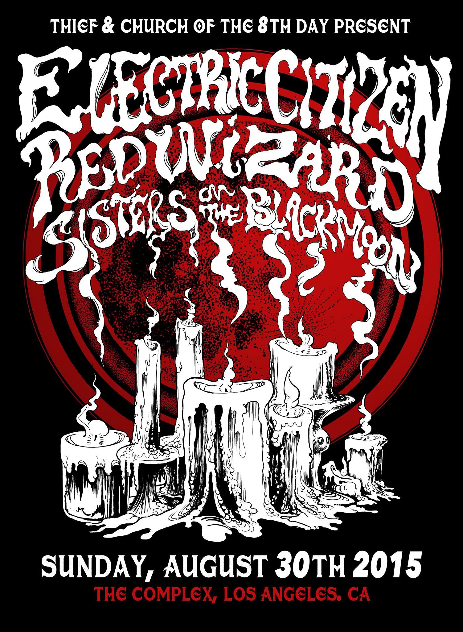 Church Of Riff Worship Electric Citizen Red Wizard Sisters Ov