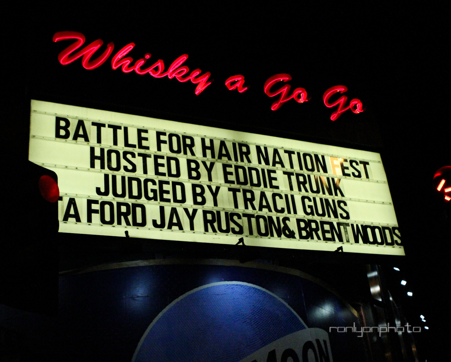 Hair Nation Battle of the Bands at the Whisky A Go-Go in West Hollywood, CA on Wednesday, August 16th, 2016. © 2016 Ron Lyon Photo