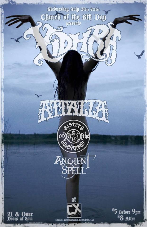 Riffs Abound: Yidhra's 'Southwest Tempest' Tour Hits