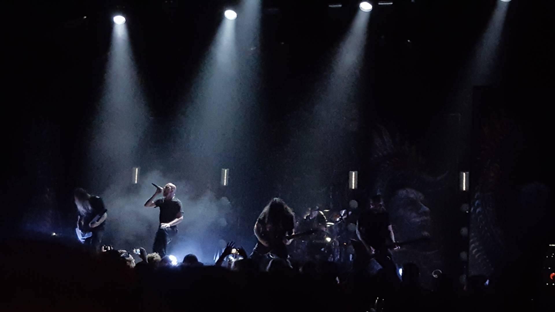 Metal Monstrocity Meshuggah Captivates The Novo Metal