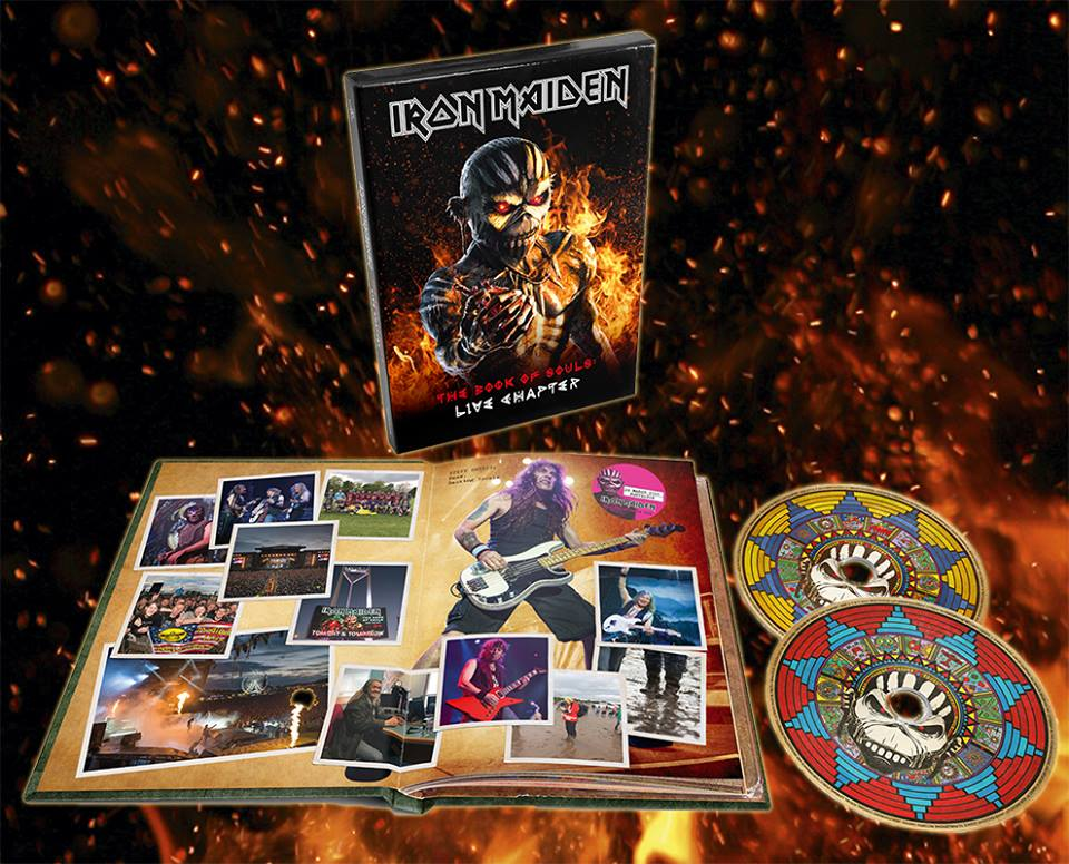 Iron Maiden To Release The Book Of Souls Live Chapter