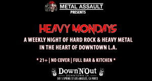 Heavy Mondays Vol. 10 @ The Down & Out | Los Angeles | California | United States