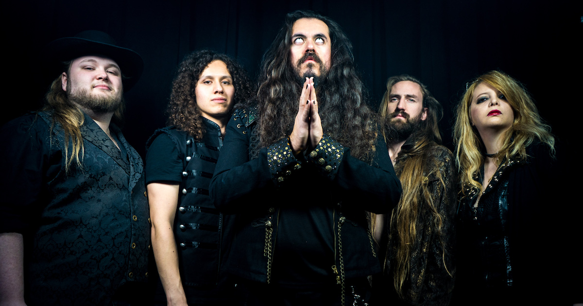 LA Heavy Metal Band LIVING DARKNESS Signs with Metal ...